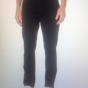 Men's Slim Fit Washed Stretch Chino Pants
